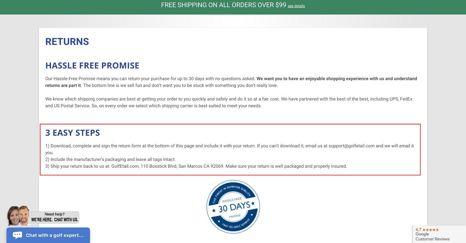 Shopify如何写好退换货政策(附转化率提升20%的模板)-分享外贸跨境电商SEO,SEM实战技巧